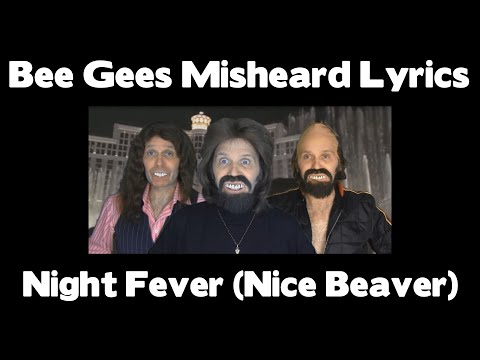 night fever bee gees lyrics hq military
