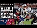 Patriots vs. Cardinals (Week 1) | Post Game Highlights | NFL