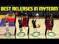 PLAYERS WITH THE BEST RELEASES IN MYTEAM! NBA 2K17 -