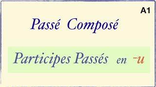 Урок французского языка. Participes Passés en -u.