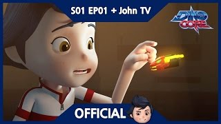 [Official] [Eng Sub] DinoCore & John TV | I'm Dino Master. | 3D Animation | Season 1 Episode 1