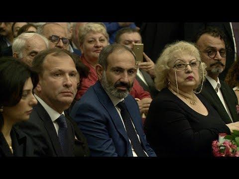 Премьер-министр Армении открыл в Москве бюст маршала Бабаджаняна