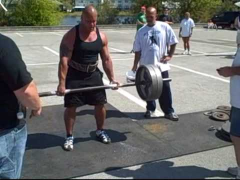 Elliott Hulse Wins 1st Place At FL Strongman Show