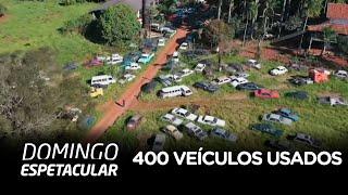 Maior colecionador de carros do Paraná tem 400 veículos usados