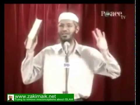 Zakir Naik - Why pork is Prohibited (Haram) in Islam & even in Christianity