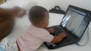 Arnav & Laptop