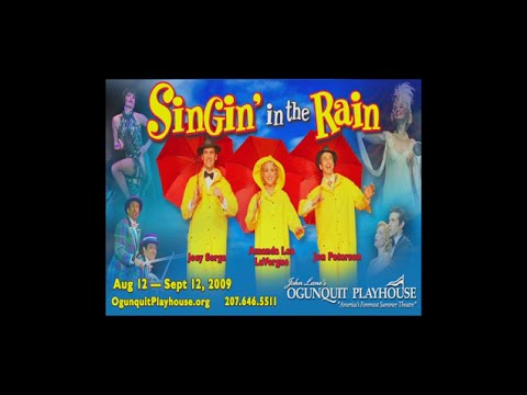SINGING IN THE RAIN at Ogunquit Playhouse