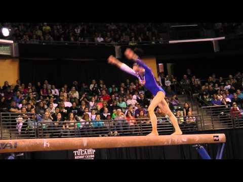 Tan Sixin - Balance Beam Finals - 2012 Kellogg&#039;s Pacific Rim Championships - 3rd
