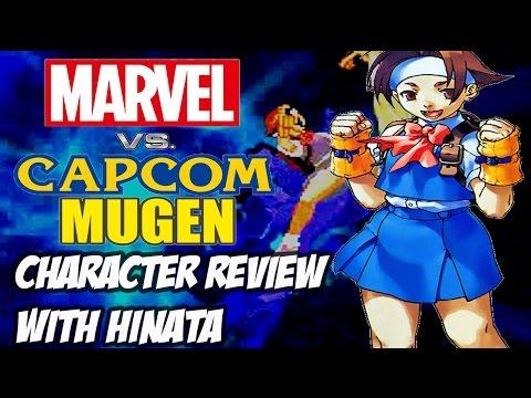 Marvel vs. Capcom Mugen : Character Review w/ Hinata