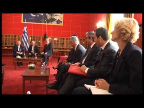 Kryeministri Rama pret Presidentin grek Karolos Papoulias