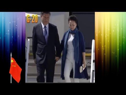 Си Цзиньпин прибыл на G-20 !!! Xi Jinping arrived at G20 summit in Hamburg Germany !!!