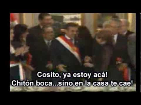 PRESIDENTA NADINE HEREDIA - JURAMENTACION DE MINISTROS FEBRERO 2014