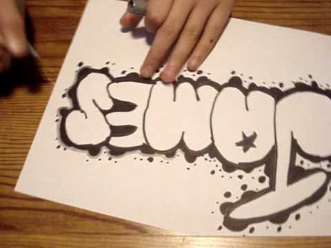 Graffiti Throwie James YouTube