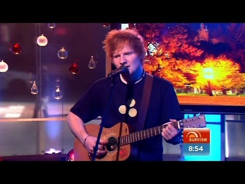 Ed Sheeran Performs 'drunk' Live On Sunrise video