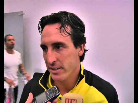 Declaraciones Unai Emery, Europa League. 29/08/13. Sevilla FC