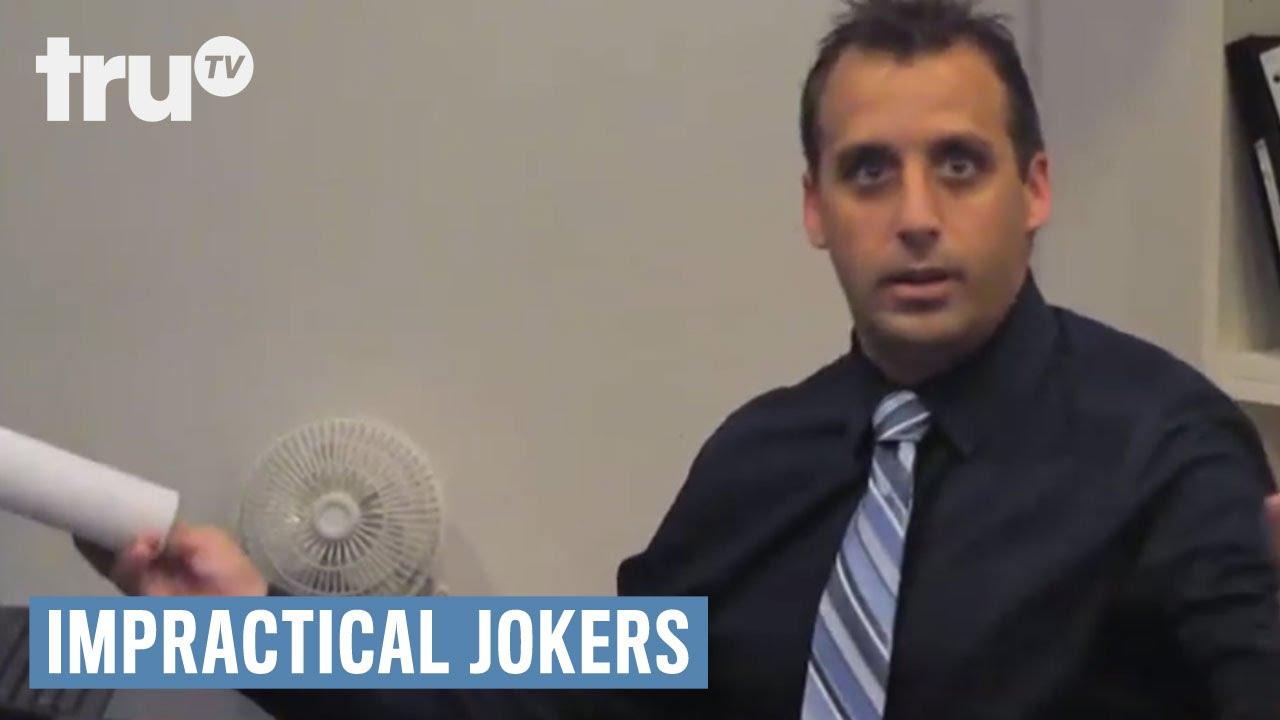Joe funny moment#1 Impractical Jokers True TV 1 - YouTube