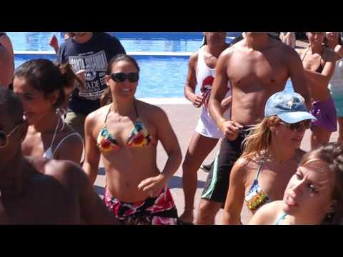 00091 ZLBF2016 ZoukLambada Pool Party Social dances ~ video by Zouk Soul