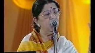 Lata Mangeshkar  Jo Wada Kiya Live Performance