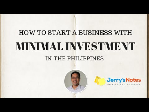 How to Start A Business with Little or No Money in the Philippines