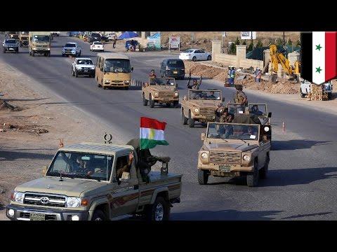 Kobani: Iraqi Kurd Peshmerga Forces Pass Through Turkey To Join Fight Against Is video