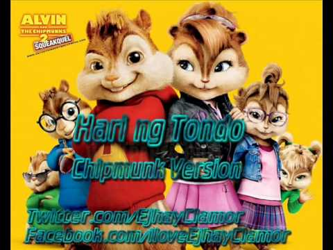 Hari Ng Tondo - Gloc 9 Ft.denise [chipmunk Version] video