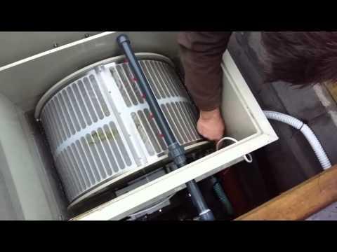 Барабанный фильтр для пруда своими руками