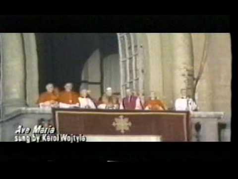Ave Maria - Karol Wojtyla from 1976