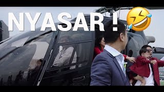 Riding The Koenigsegg Helicopter And Ends Up In Taxi  Feat Raffi Ahmad