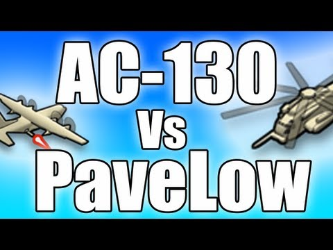 MW3 - Tips and Tricks! AC-130 vs PaveLow! (Modern Warfare 3 Tips)