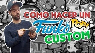 COMO HACER UN FUNKO POP CUSTOM DESDE 0 + SORPRESA | FUNKOSAS