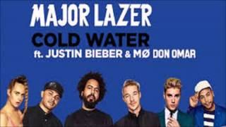 Cold Water (Remix) - Major Lazer Ft. Don Omar, Justin Bieber & MØ (Original) (Con Letra) / LIKE