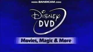 Mess Up Around With Disney DVD Logo (2007-present; 2007-2014)