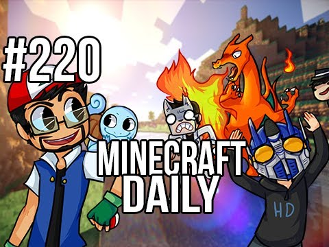 Minecraft Daily | Ep.220 | Ft. Kevin, ImmortalHd and Steven | No Cadavers for Kadabra!
