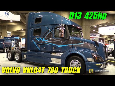 2016 Volvo VNL64T 780 Truck with Volvo D13 425hp Engine -Ext. Int Walkaround - 2015 Expocam Montreal