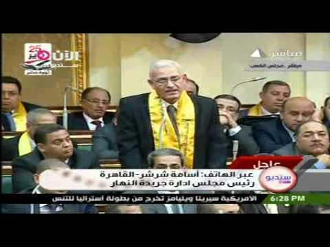 أسامة شرشر- القاهرة-رئيس مجلس ادارة جريدة النهار