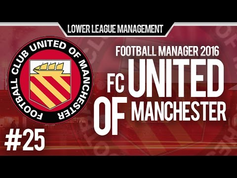 Football Manager 2016 LLM Playthrough | FC United of Manchester #25 | Penalties