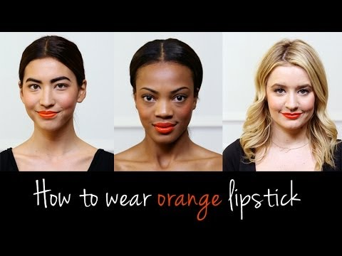 How to Wear Orange Lipstick For All Skin Tones | Beauty How To