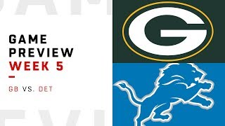 Green Bay Packers vs. Detroit Lions   Week 5 Game Preview   NFL Playbook