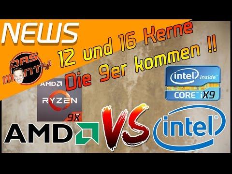 AMD vs INTEL | Ryzen 9 und Core i9 kommen | Das Monty - Deutsch