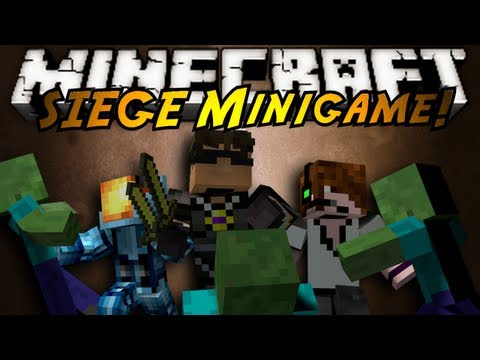 Minecraft Mini-Game : SIEGE!