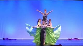 bellydance -Formation Malea mit Fusion Dance Isis-Wings
