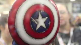 Sideshow Collectibles Marvel SDCC 2013 Display! Iron Man 3, Black Widow, Apocalypse & More!
