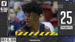 Alize Johnson Full Highlights Pacers vs Clippers (2019.07.12) Summer League - 25 Pts, 13 Rebounds!
