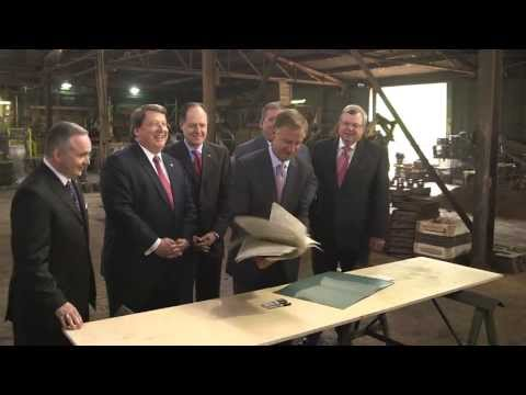 Gov. Bill Haslam : Workers' Compensation Reform Bill Signing