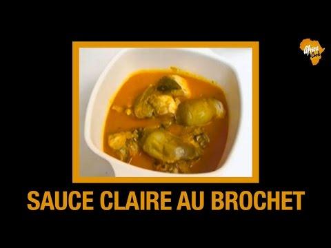 Recette Sauce claire ivoirienne au brochet | Africa Cook