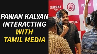 Pawan Kalyan Interacting With Tamil Media @ Chennai | Pawan Interaction with Media from Chennai