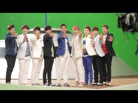 [2013 Lotte Duty Free Music Video Making Film] Super Junior -  Jpn Ver video