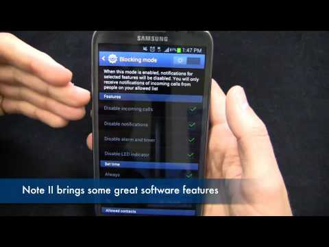 Samsung Galaxy Note II Review Part 1