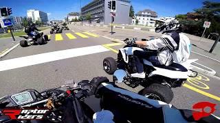 Stunts, Racing & Drifts Yamaha Raptor 700R SE Quad