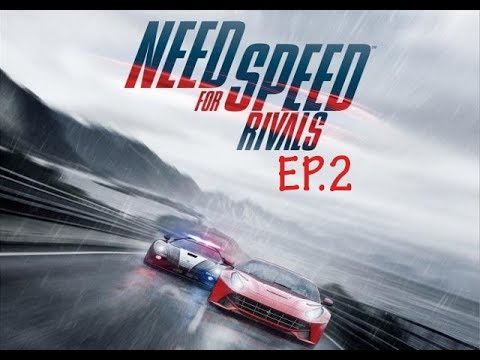 Need for speed rivals - First Time Trial & Unexpected cops !